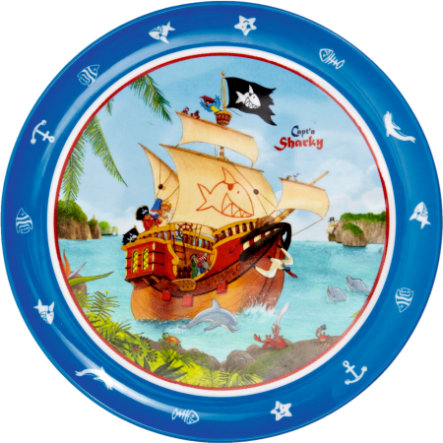 COPPENRATH Melamine bord - CAPT`N SHARKY