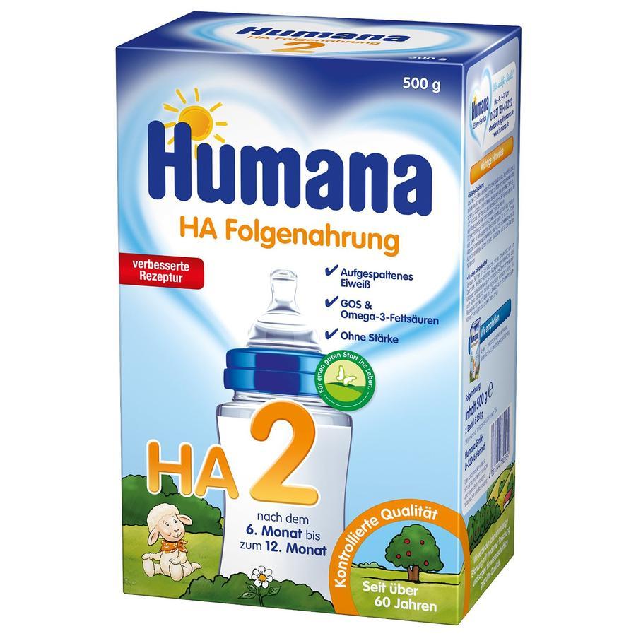 Humana HA 2 GOS stärkefrei 500 g
