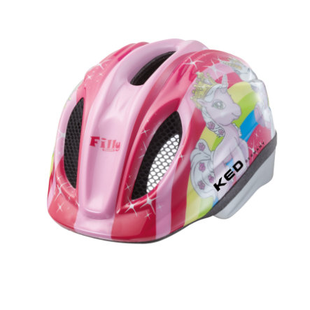 KED Casque de vélo enfant Meggy Original Filly T. S, 46-51 cm