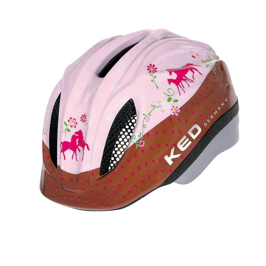 KED Dětská cyklistická helma Meggy Original přátelé koní vel. XS 44 - 49 cm