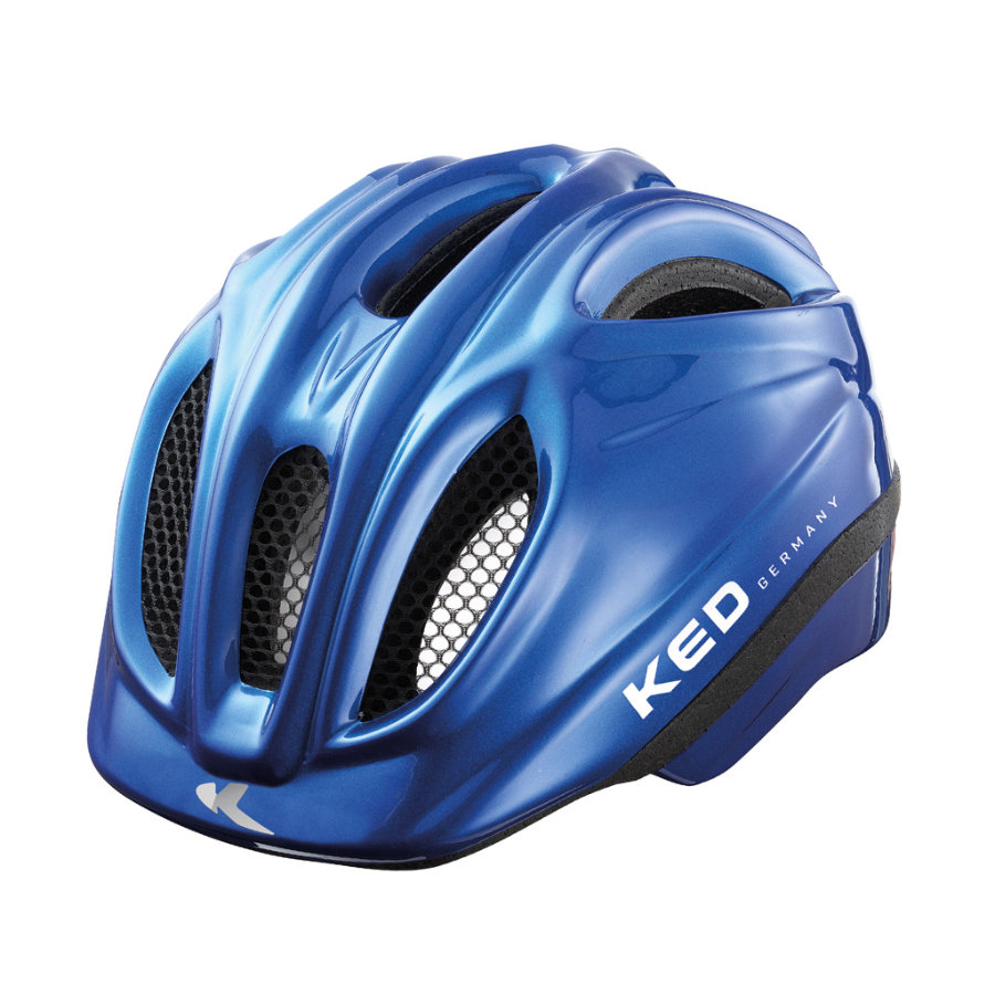 KED Casque de vélo enfant Meggy Blue T. XS, 44-49 cm