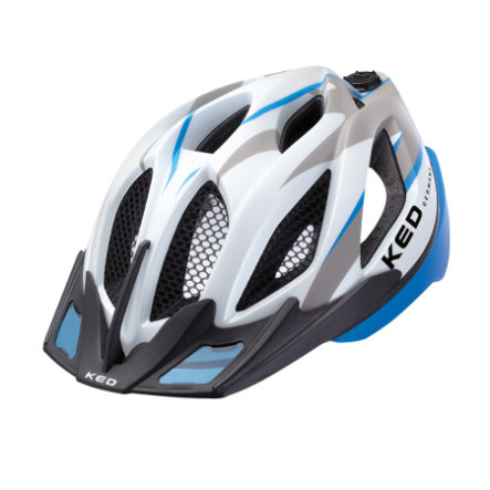 KED Cykelhjälm Spiri Two Blue Grey matt Stl.  L 55-61 cm