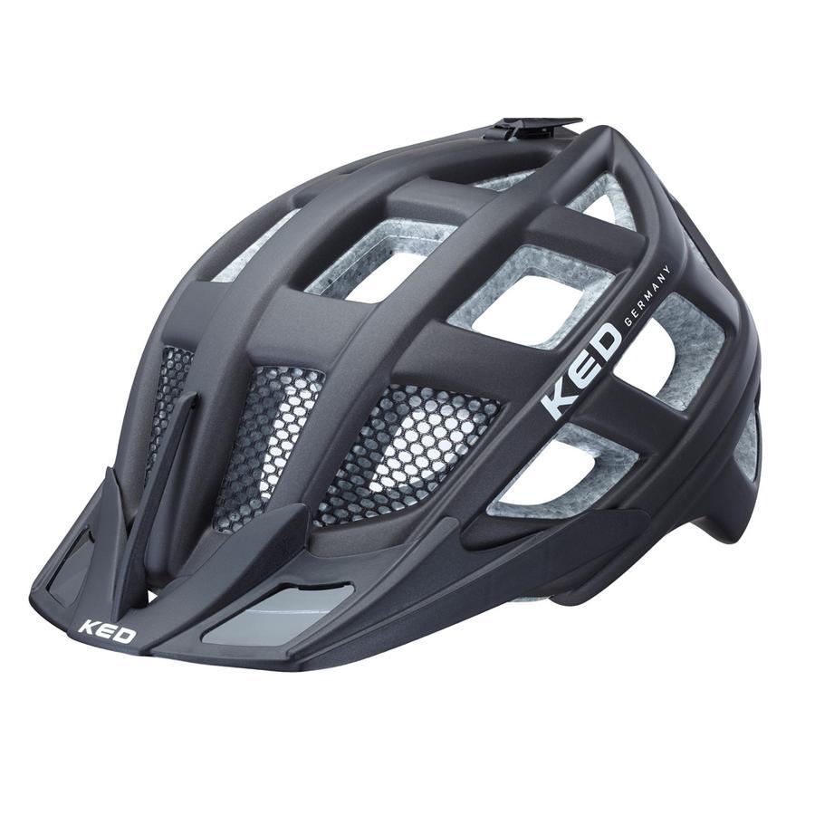 KED Cykelhjälm Crom Black matt  Stl. M 52-58 cm