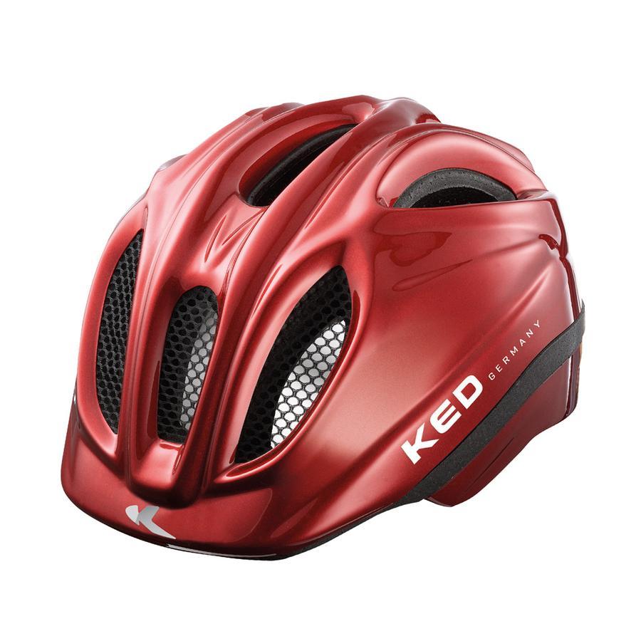 KED Kinder Fahrradhelm Meggy Red Größe XS 44-49 cm