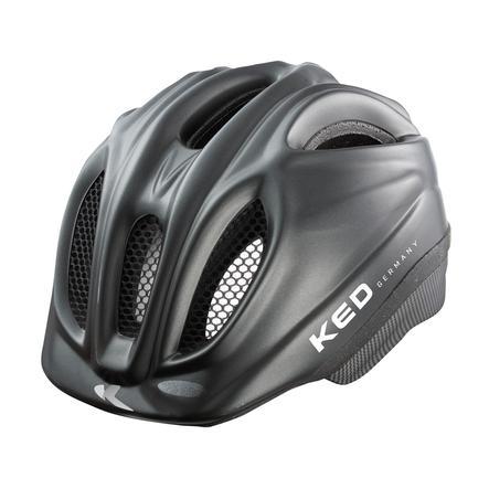 KED Casque de vélo enfant Meggy Black Matt T. XS, 44-49 cm