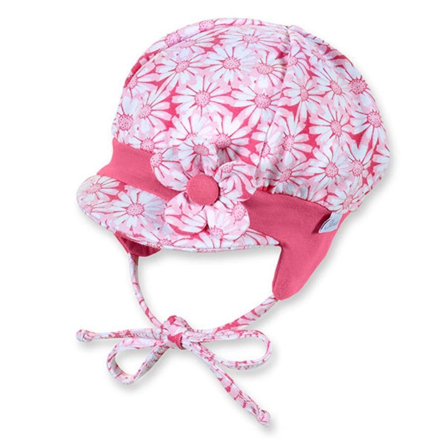 STERNTALER Girls Čepice mandlové květy růžová