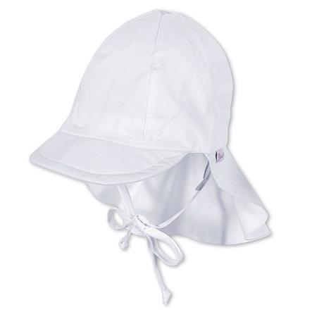 STERNTALER Mini čepice s kšiltem pro chlapce, bílá