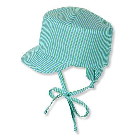 STERNTALER Boys réversible à pic réversible vert pois chapeau