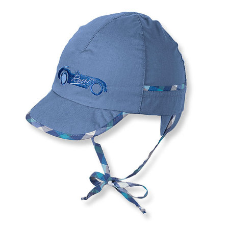 STERNTALER Baby Boys Čepice s kšiltem ledově modrá