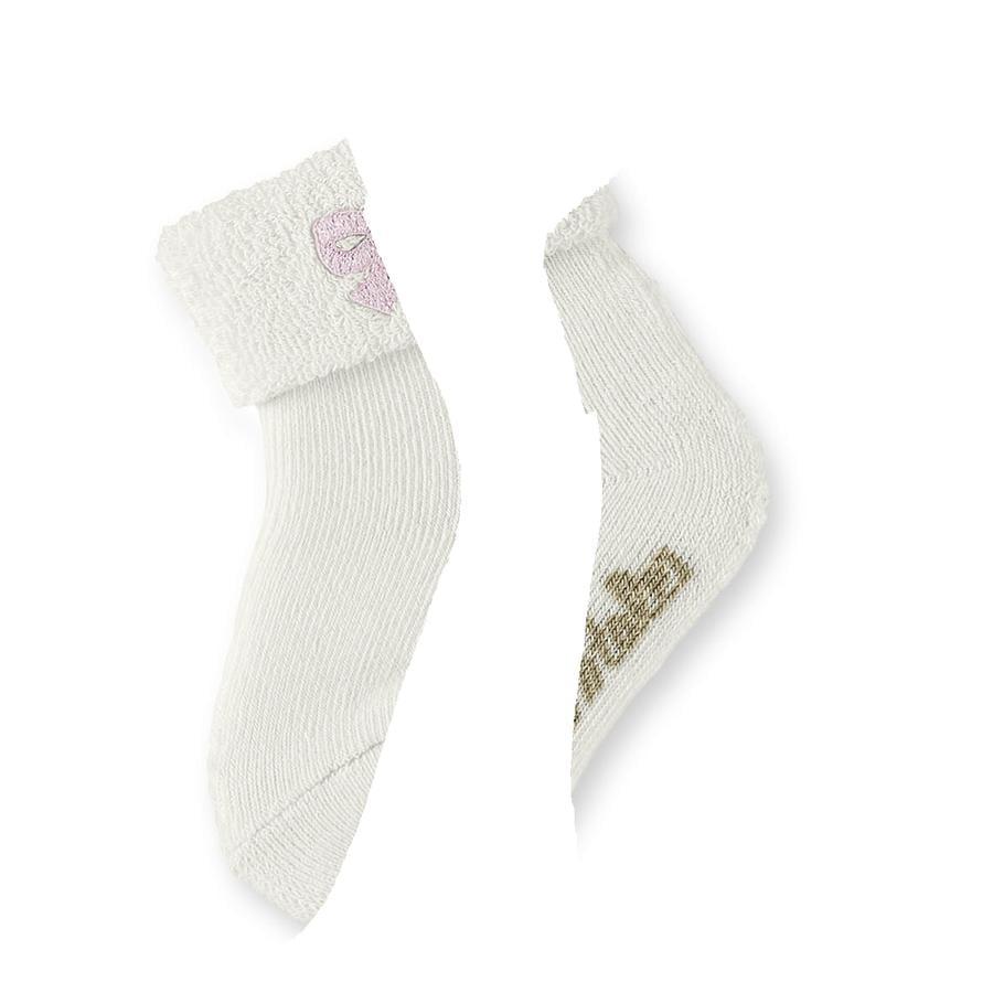 STERNTALER Baby Sock Cupcake/Bow ecru