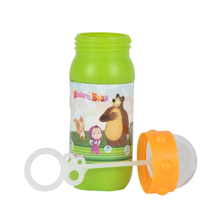 SIMBA Masha and the Bear - Seifenblasenflasche 60ml, sortiert