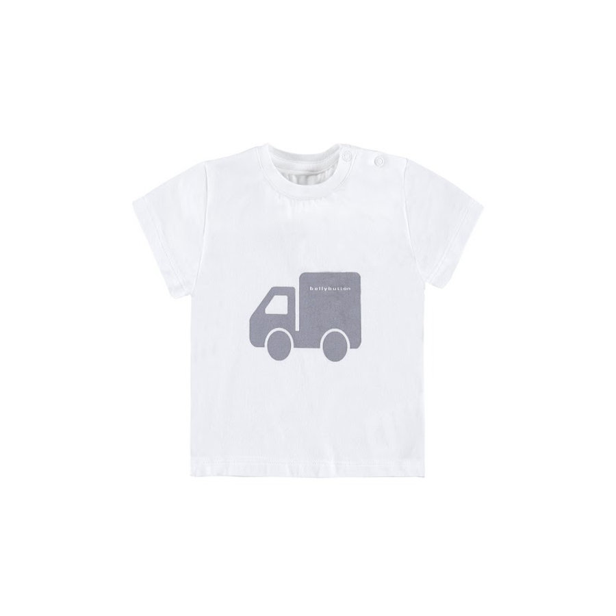 BELLYBUTTON Boys Baby T-Shirt bright white