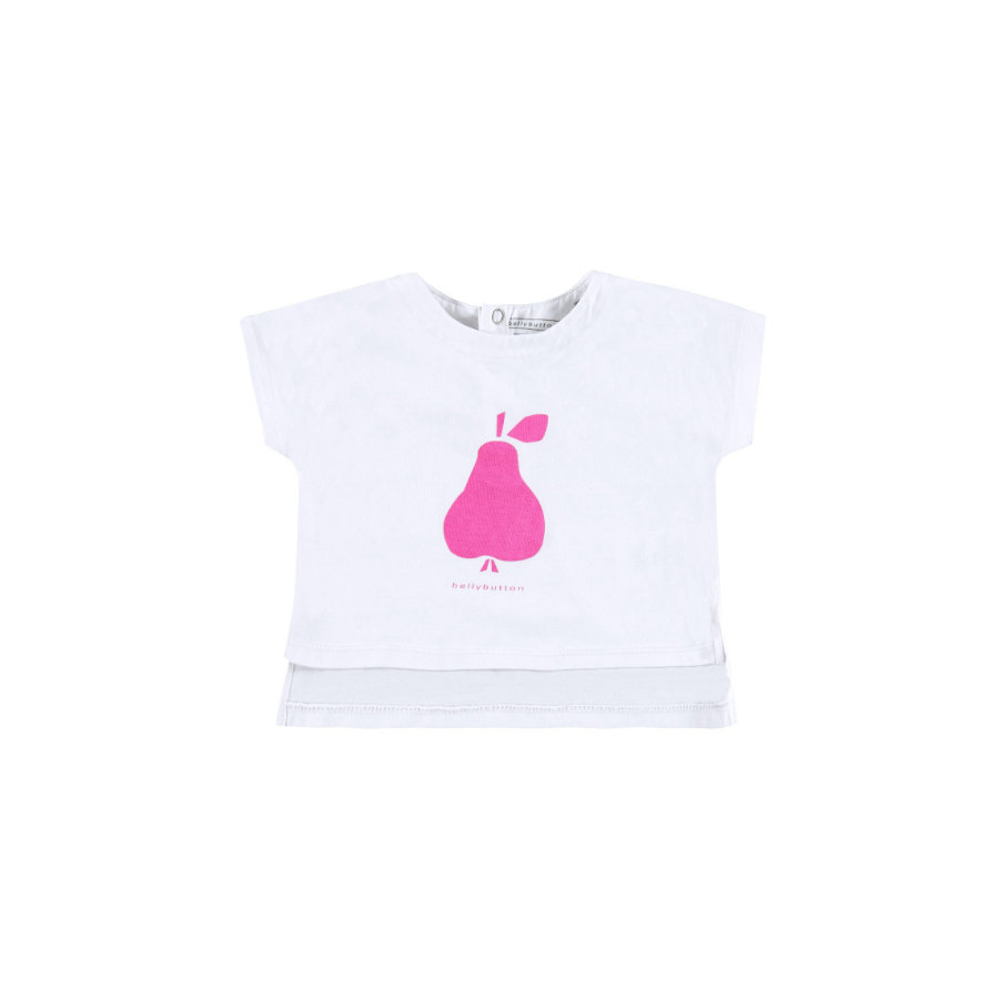 BELLYBUTTON Girls Baby Tričko bright white