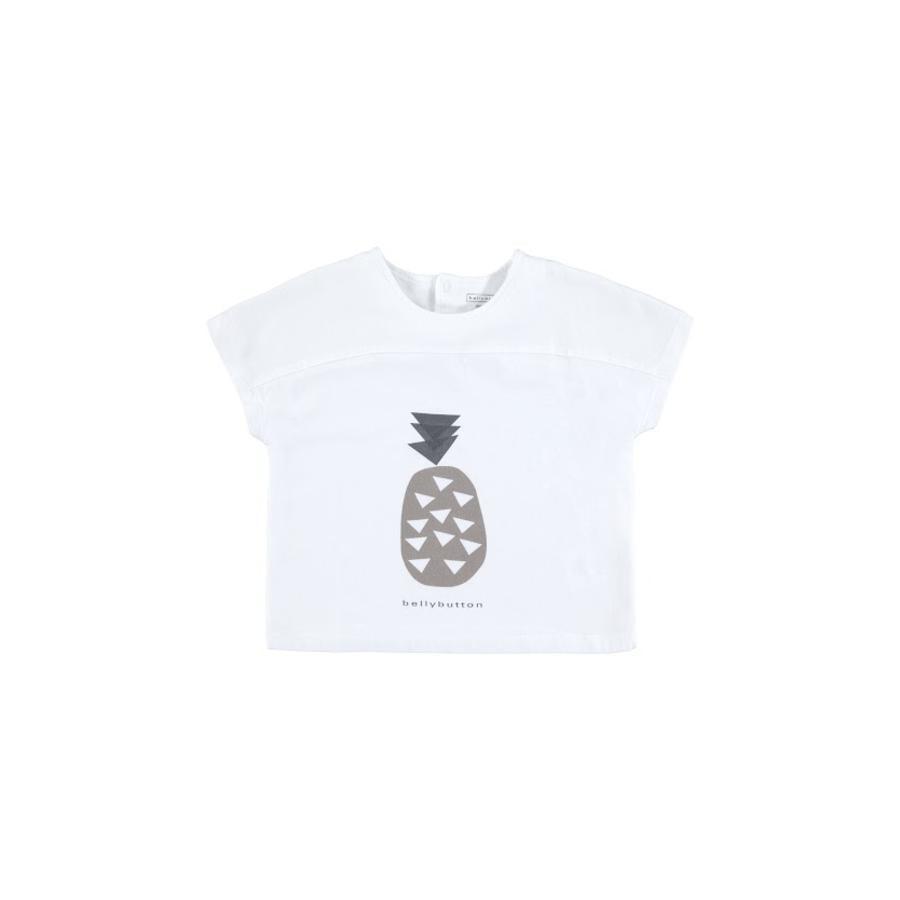 BELLYBUTTON Bebé blanco T-Shirt brillante