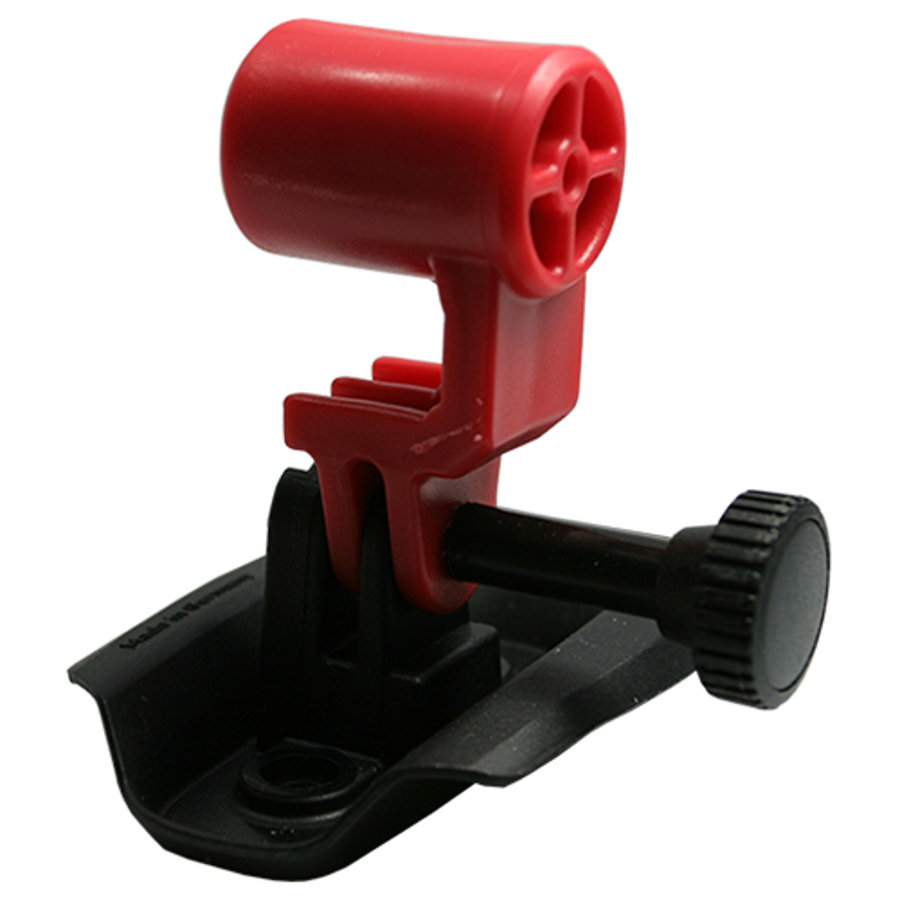 KED Fixation pour caméra sur casque de vélo Trailon, rouge