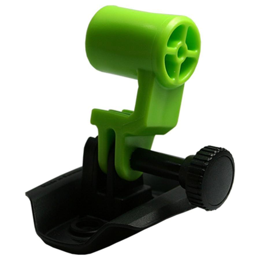 KED Fixation pour caméra sur casque de vélo Trailon, vert