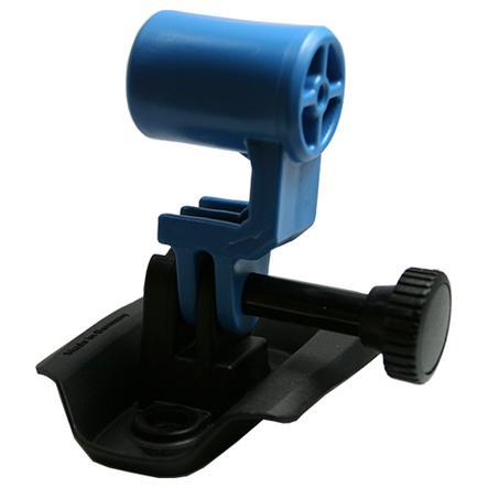 KED Fixation pour caméra sur casque de vélo Trailon, bleu