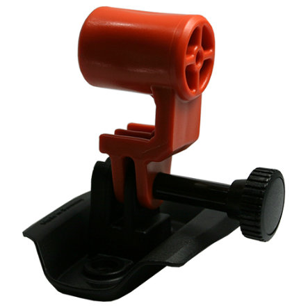 KED Actioncam Hållare till hjälmkamera, Orange