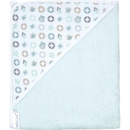 Bebe Jou Håndklæde med hætte Owl Family 85x75 cm
