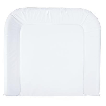 BEBE JOU Wickelauflage 3-Keil Farbe uni weiß