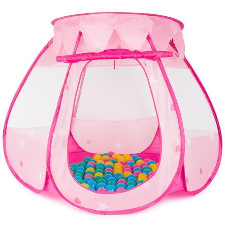 bieco Carpa de bolas Palacio de princesa con 100 Bolas