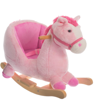 BIECO Houpací kůň Pink Lady