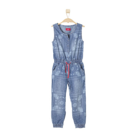 s.OLIVER Girls Džínový overal blue denim stretch