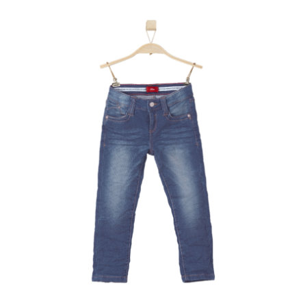 s.OLIVER Boys Džíny blue denim stretch regular