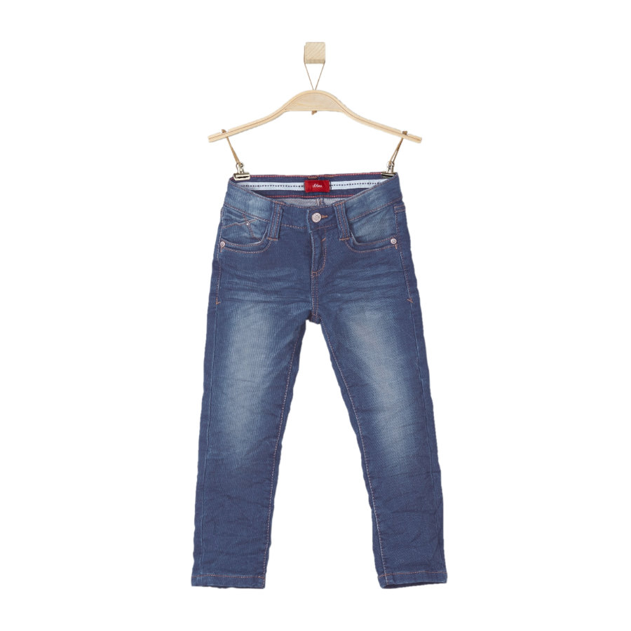 s.OLIVER Boys Jeans blue denim stretch regular
