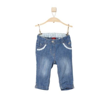 s.OLIVER Girls Jeans blue denim