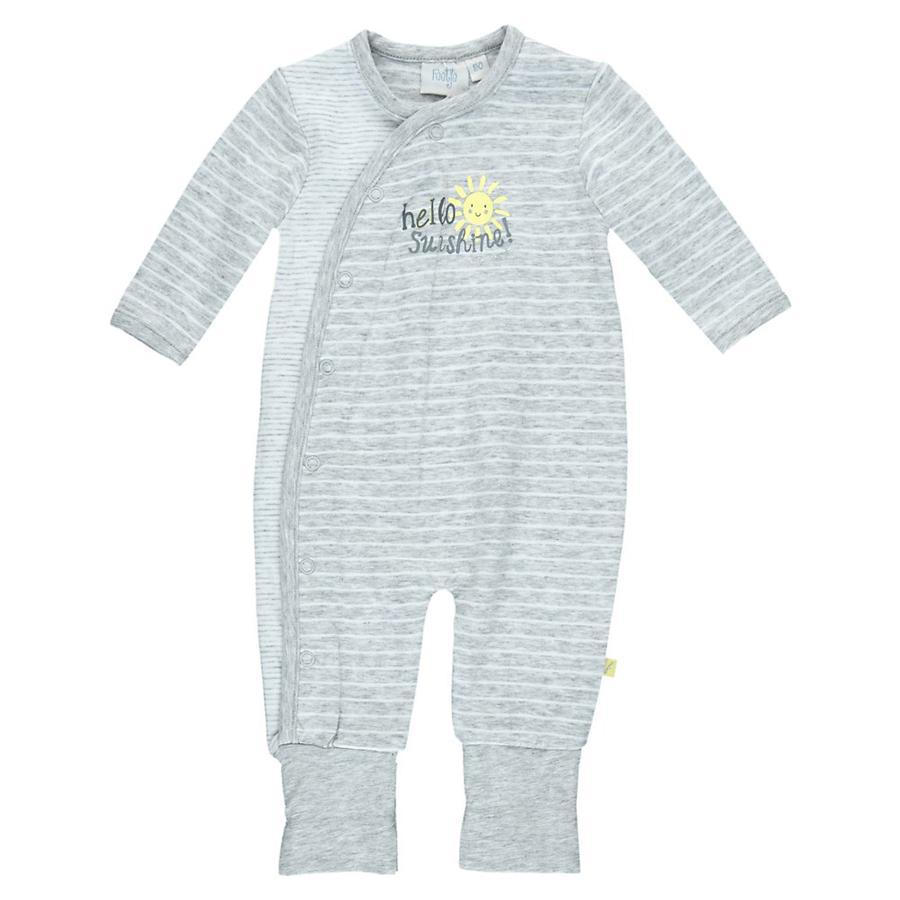 FEETJE Baby Schlafoverall grau melange