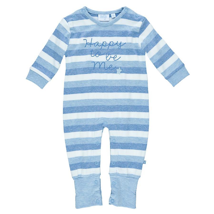 FEETJE Baby Schlafoverall hellblau