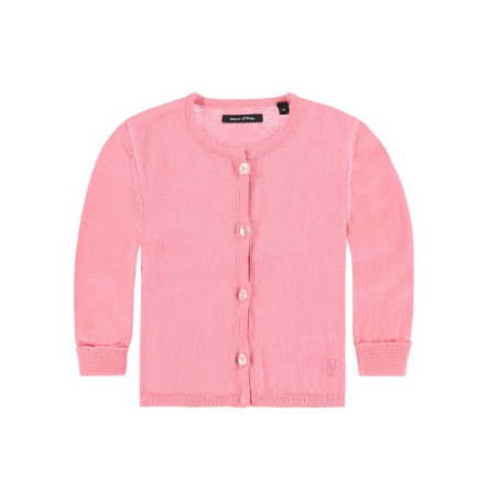 MARC O`POLO Girls Strickjacke pink