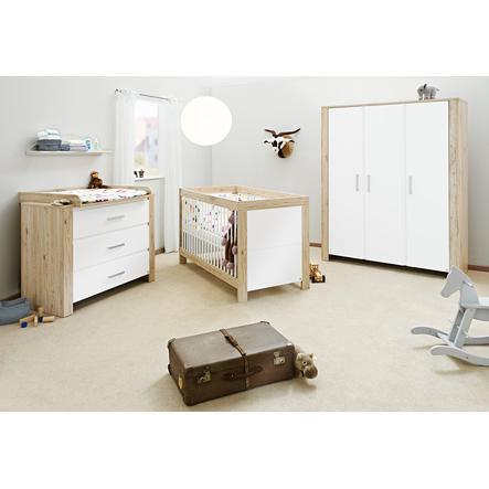 Pinolino Chambre enfant Candeo, armoire 3 portes, large