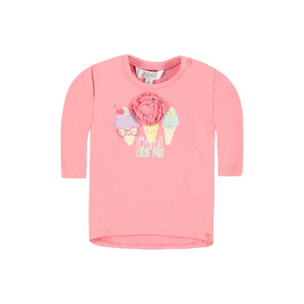 KANZ Girls Bluzka z krótkim rękawkiem pink