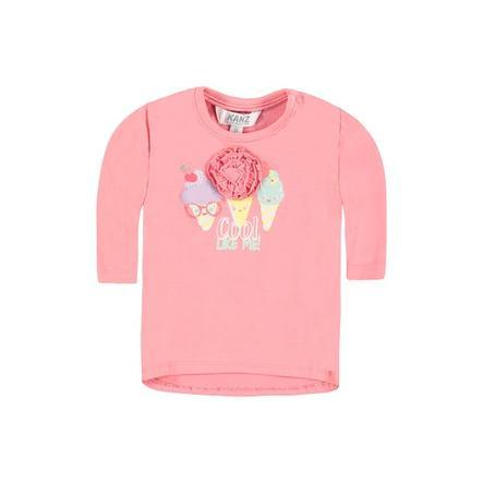 KANZ Girls Tričko s dlouhým rukávem růžové