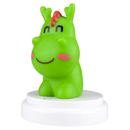 Alecto Luz nocturna LED Dragon verde