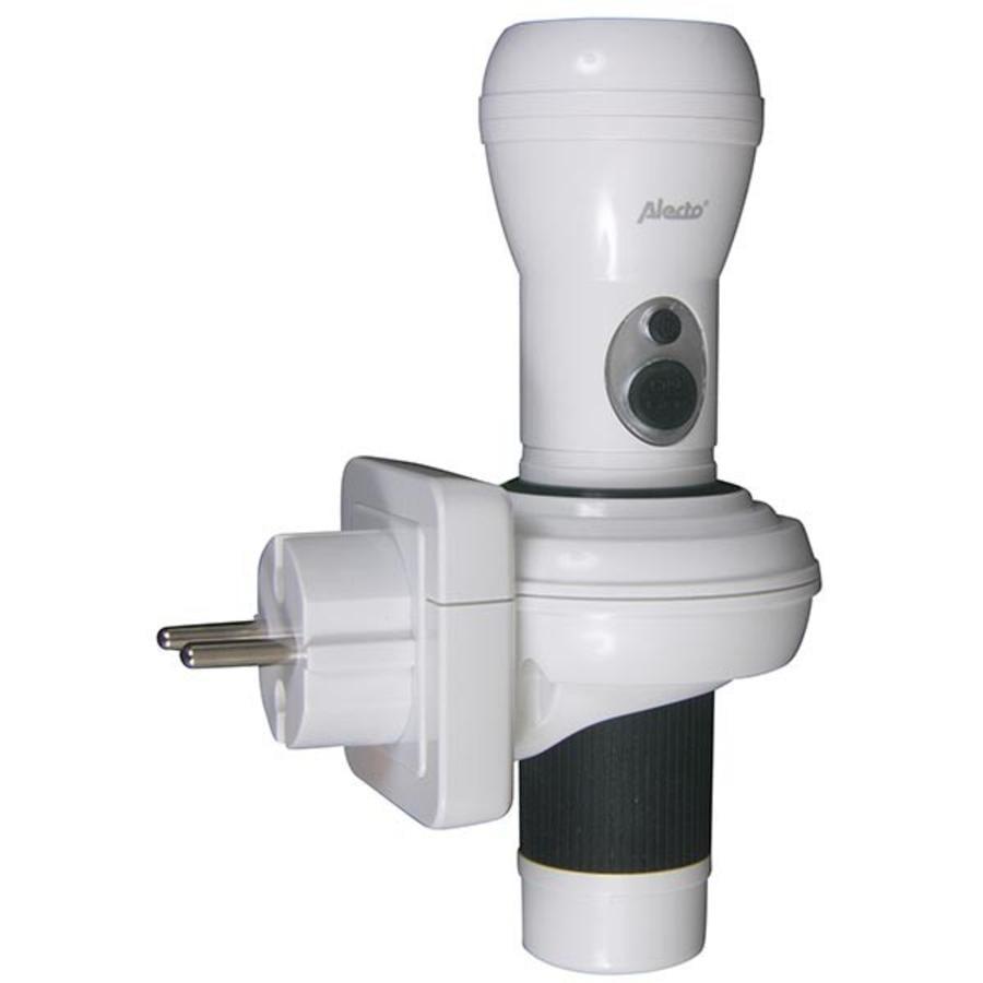 ALECTO LED Zaklamp ATL-120S wit