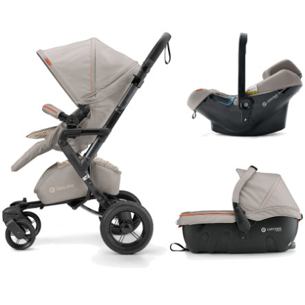 CONCORD Kinderwagen Neo Travel-Set Cool Beige