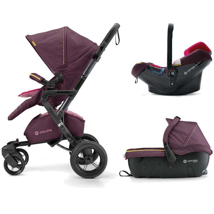 CONCORD Kinderwagen Neo Travel-Set Rose Pink