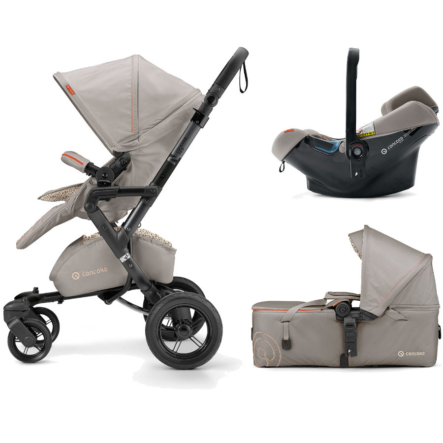 CONCORD Barnvagn Neo Mobility-Set Cool Beige