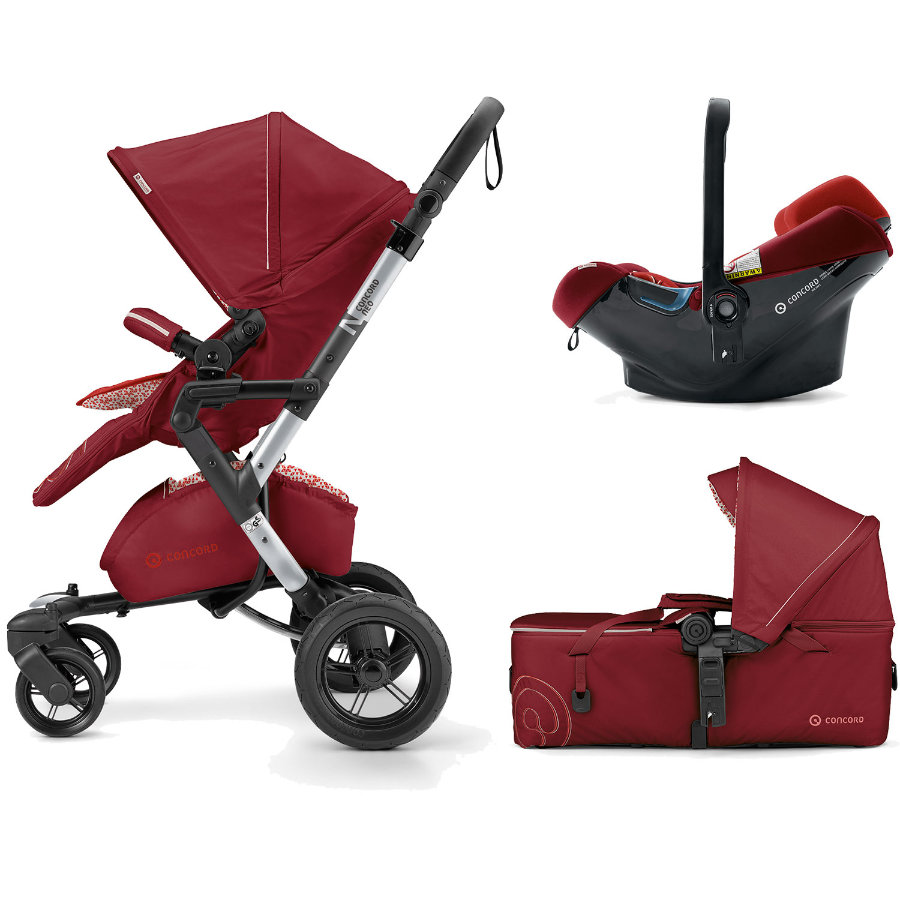 CONCORD Kinderwagen Neo Mobility-Set Tomato Red