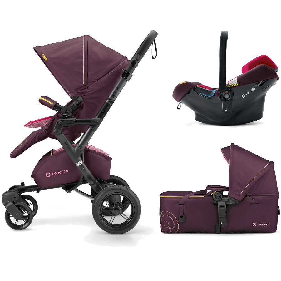 CONCORD Barnvagn Neo Mobility-Set Rose Pink