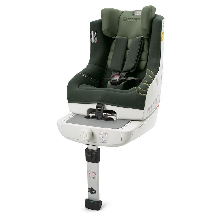CONCORD Seggiolino auto Absorber XT Jungle Green Limited Edition, colore verde