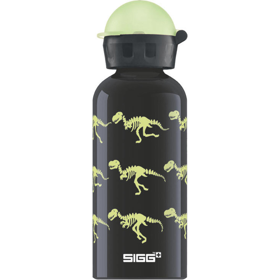SIGG Flaska 0,4 L Design Glown Walking Dinos