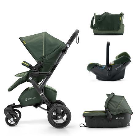 CONCORD Kinderwagen Neo Travel-Set Jungle Green Limited Edition