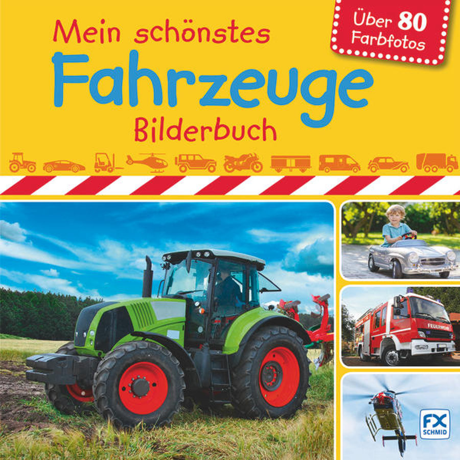 FX Schmid, Mein Fahrzeuge-Bilderbuch