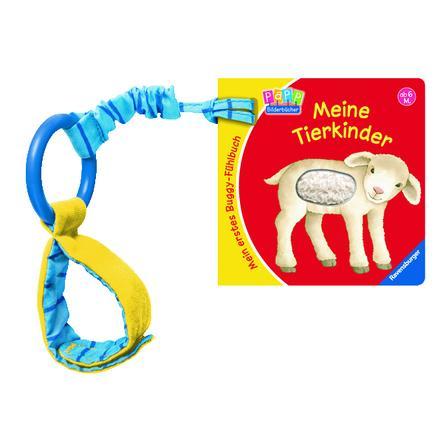 RAVENSBURGER Mein erstes Buggy-Fühlbuch: Tierkinder