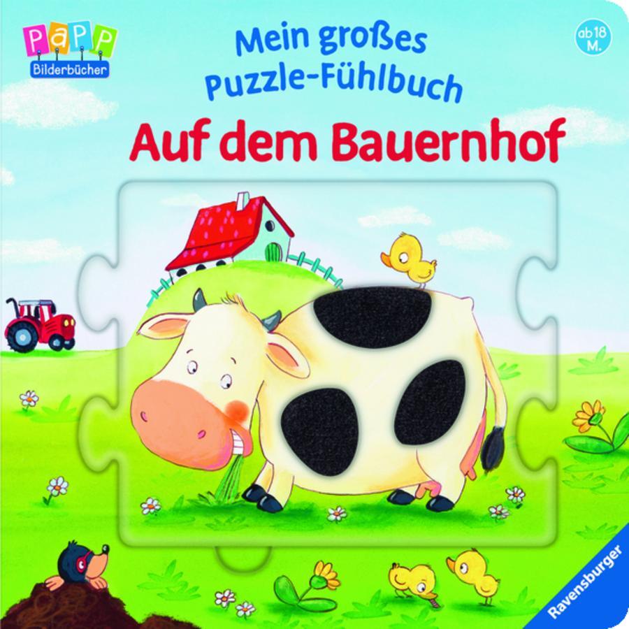 RAVENSBURGER Puzzle-Fühlbuch:Bauernhof