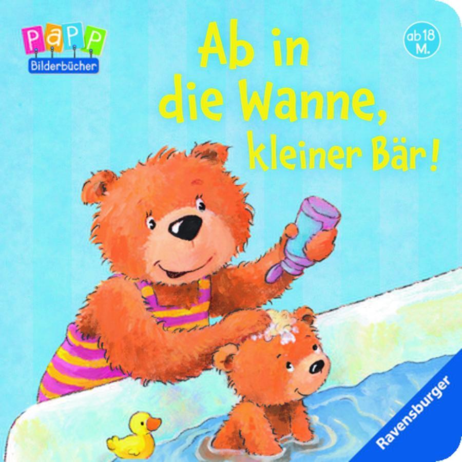 RAVENSBURGER Ab in die Wanne, kleiner Bär!